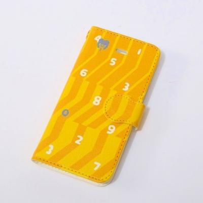 EVANGELION  iPhone 5/5S Diary Case (textile design by SOU・SOU) 零号機