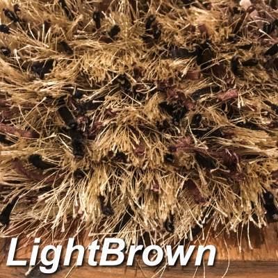 ラグ ライトブラウン