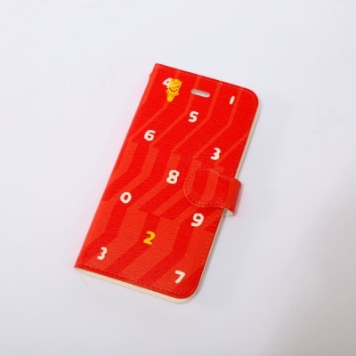 EVANGELION  iPhone 6/6S Diary Case (textile design by SOU・SOU) 弐号機