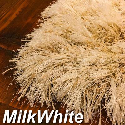 ラグ ミルクホワイト