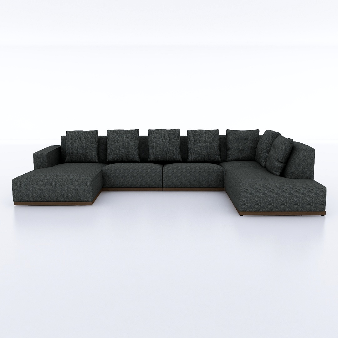 Otto(オット) U-shaped sofa 【向かって左シェーズ】