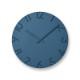 ウォールクロック(350-54842) ブルー