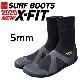 TOOLS(ツールス) X-FIT SURFBOOTS 5mm エックスフィット サーフブーツ 冬用 保温 シューズ TLS