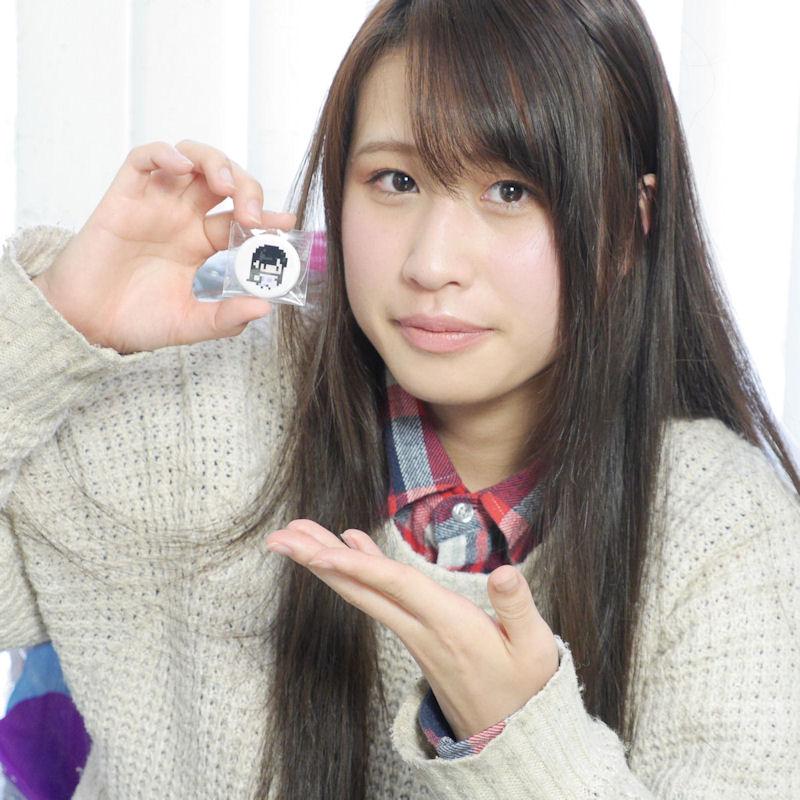Mermaidol(マーメイドル)マーメイドルのドット絵缶バッジ (32mm)