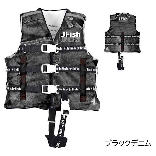 J-FISH/R(ジェイフィッシュ) GRP_JCL-402 JUNIOR-FISH チャイルド サマーライフベスト ライフジャケット キッズ ベビー
