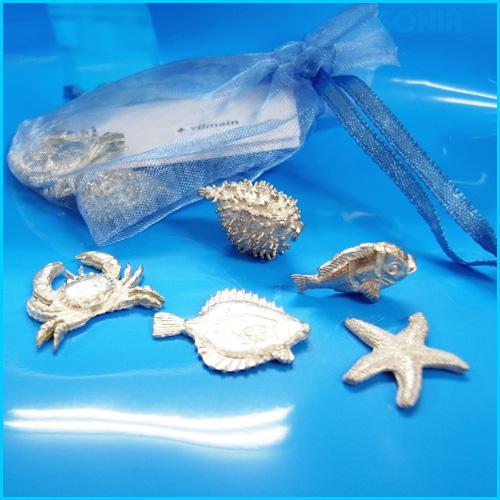 SONIA(ソニア) 【VKSESET】 Bag oF sea Creatures 海の生物5個セット(1袋)