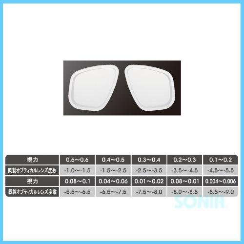 apollo(アポロ) Optical lens 既製オプティカルレンズ オプティコ/プレステージ(1枚)