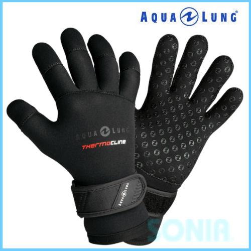 【即納】AQUALUNG(アクアラング) 574 3mmサーモグローブ Themo Cline Gloves ダイビング マリンスポーツ 手袋 冬用 ウィンターグローブ あったか