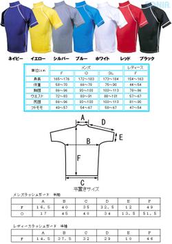 【送料無料】SONIA(ソニア) 【フェイサー】 ラッシュガード 半袖【ロゴ無】 男性3L