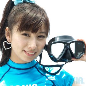 【SALE】SONIA(ソニア) MS-283 S90ハンターマスク ダイビング シュノーケリング