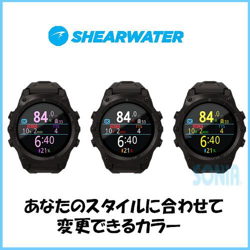 【送料無料】SHEARWATER(シアウォーター) FL1910 TERIC テリック ダイブコンピュータ ダイビング ウォッチ