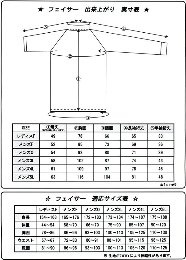 SONIA(ソニア) 【フェイサー】 ラッシュガード 長袖【ロゴ無/男性4L・5L】