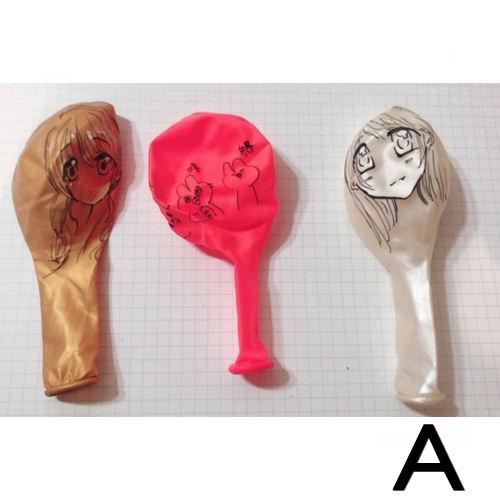 【送料無料】マーメイドルしおんが描いた風船