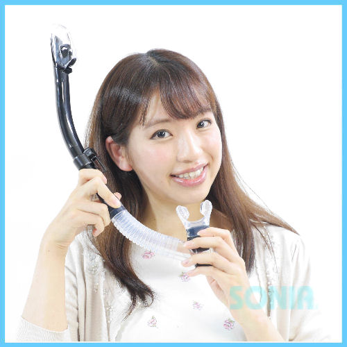 【即納】SONIA(ソニア) SN-1095 ウルトラドライスノーケル(マーメイドルスノーケル) Ultra Dry Snorkel