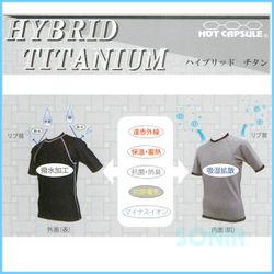 SONIA(ソニア) 【ホットカプセル】 ハイブリッドチタン ベスト HOT CAPSULE HYBRID TITANIUM
