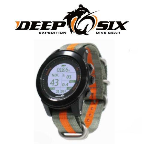 【納期3週間】Deep 6 Gear(ディープシックスギア) FL1850 Deep 6 Excursion ディープシックス エクスカーション ダイブコンピュータ ダイビング ウォッチ
