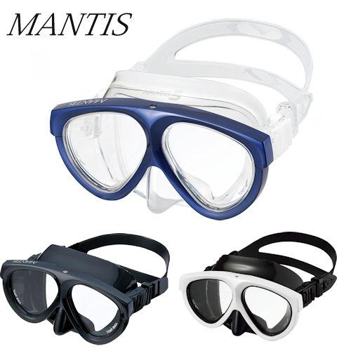【送料無料】GULL(ガル) マンティスマスク 度付レンズセット(GM-1021/GM-1031) MANTIS MASK ダイビング