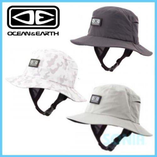 OCEAN&EARTH(オーシャンアンドアース) ビンギンソフトピークサーフハット BINGIN SOFT PEAK SURF HAT