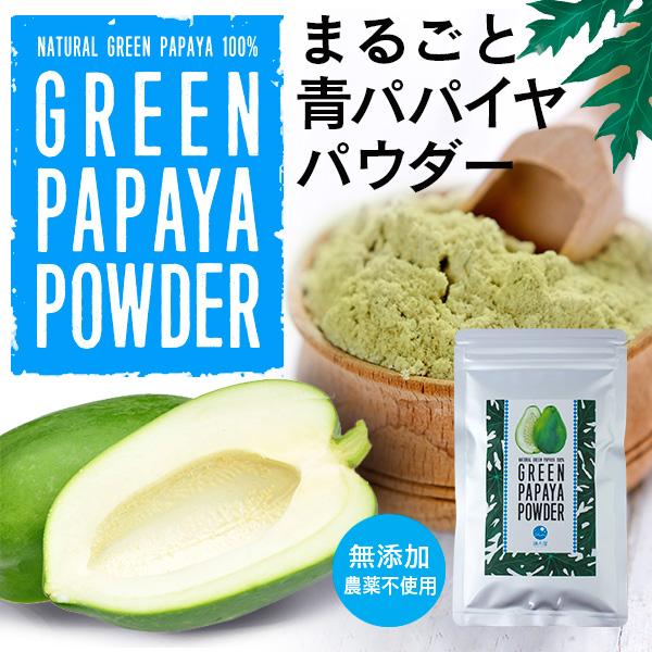 グリーン パパイヤ パウダー 80g