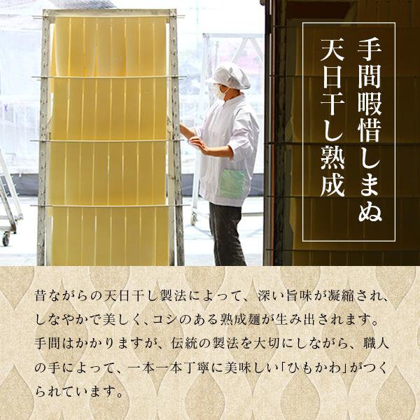 【定期コース】ひもかわ うどん 濃厚冷汁つゆ付 200g×2袋セット