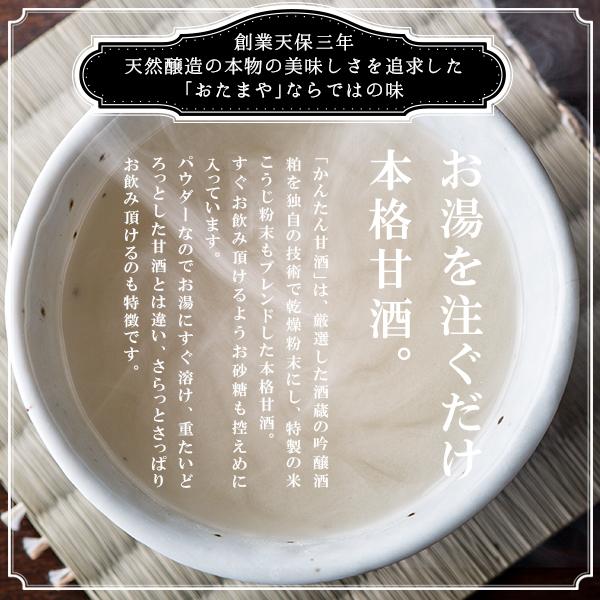 甘酒 吟醸酒粕と特製米麹ブレンド 本格パウダー 120g×2個セット