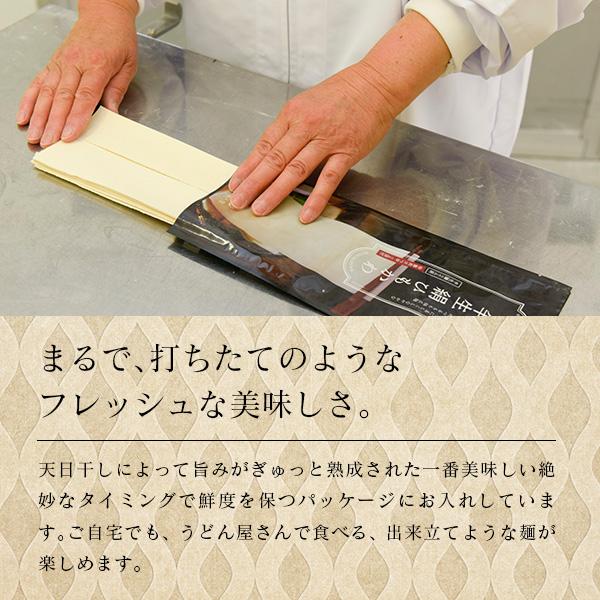 ひもかわうどん 幅広タイプ (こだわり特製肉汁つゆ付) 200g