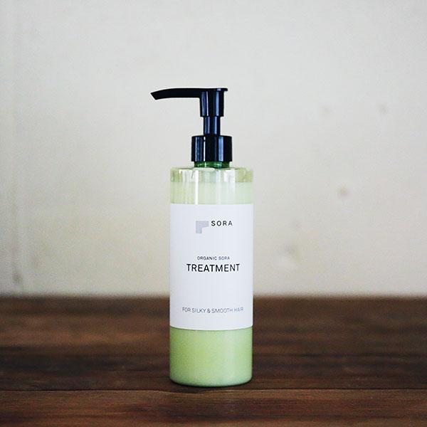 オーガニックソラトリートメント【レモンベースの香り】ORGANIC SORA TREATMENT<<FOR SILKY &SMOOTH HAIR>>   300ml