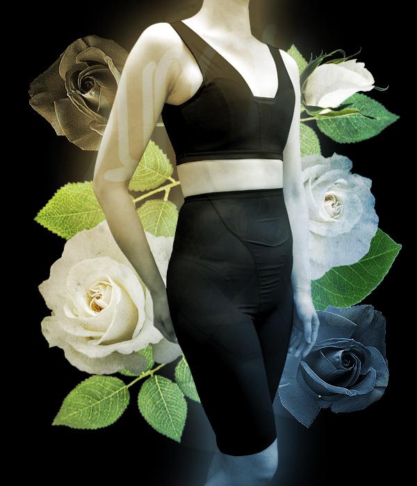 フラットヒップガードル【女性用(男装)】 男装用コスプレガードル 女性らしい丸みをなだらかに抑える