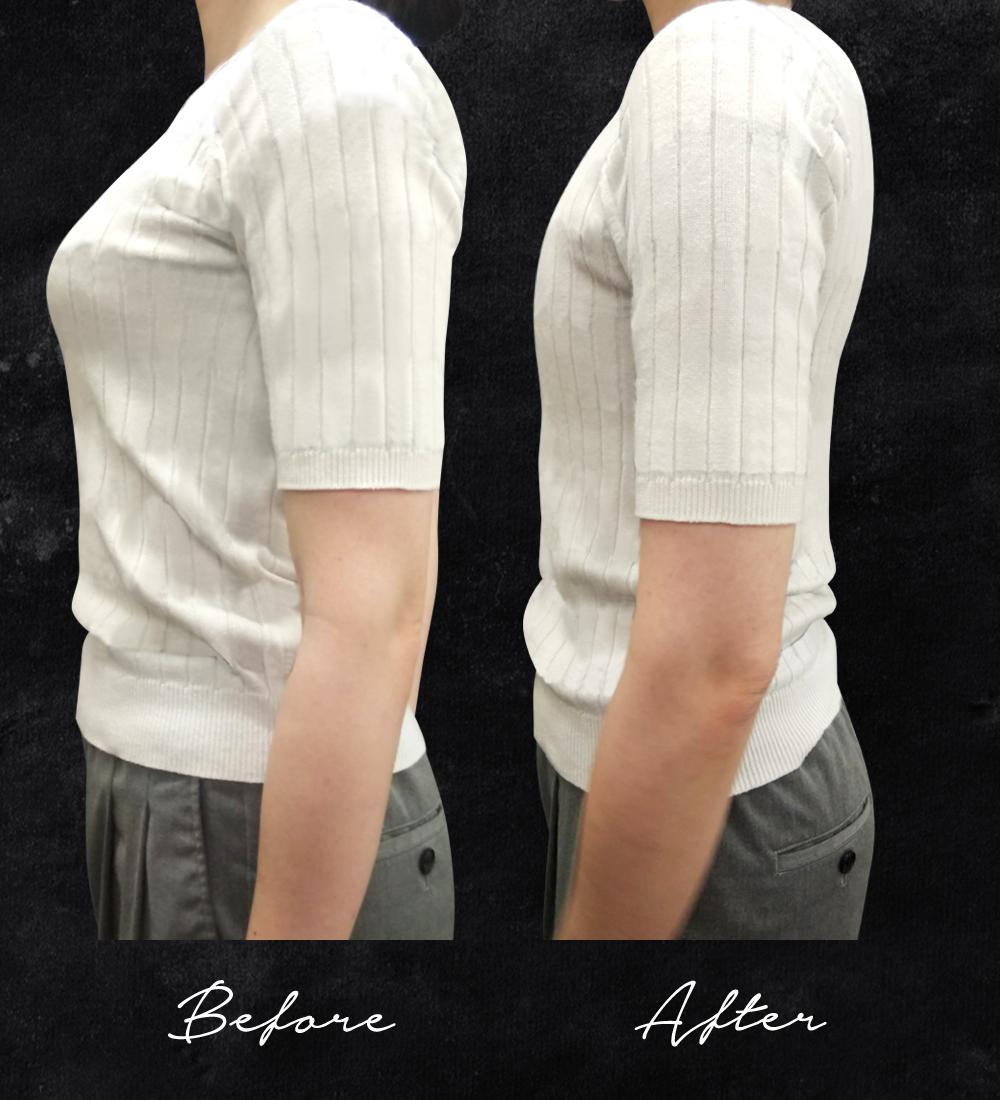 フラットバストブラジャー【女性用(男装)】 谷間汗取り付き胸潰しブラジャー 男装レイヤー・着物ブラ