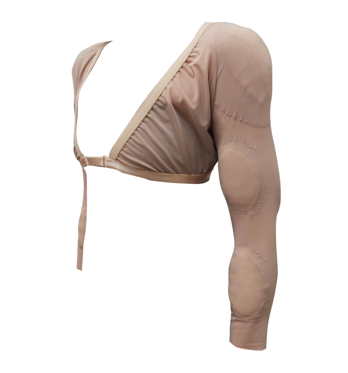 ■新発売■マッチョインナー<パッド10点付属>【女性用(男装)】 広い肩幅としなやかな腕の筋肉を演出するコスプレ用変身インナー
