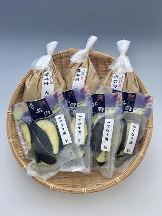 【ご自宅・贈答用】水なす漬セット(ぬか漬3袋・カットタイプ4袋)【送料込】