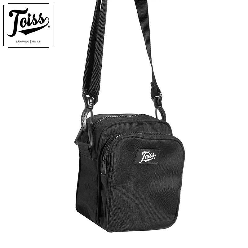 【TOISS】トイスオリジナルロゴショルダーバッグ  | ブラック