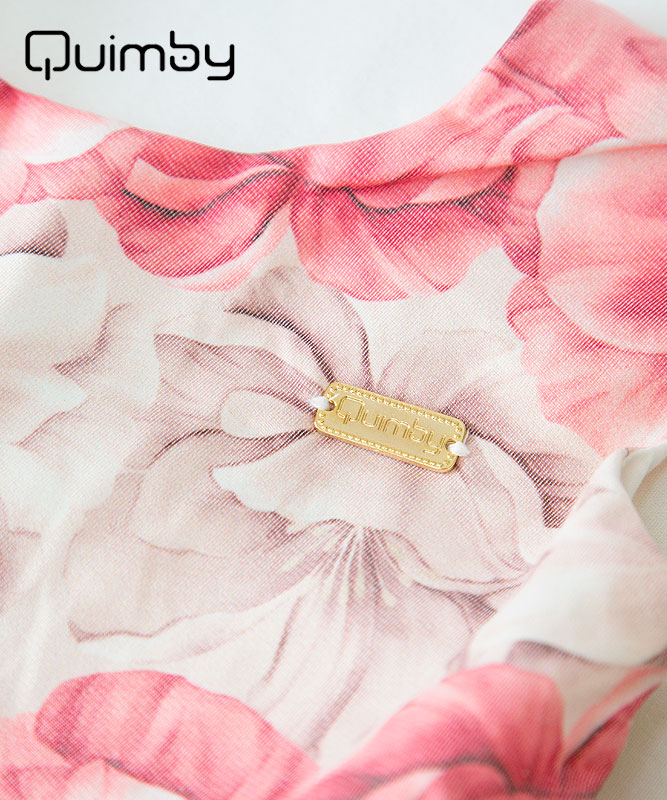 ■30%OFF■【QUIMBY】女の子ドレス【子供服・パーティー・発表会】ハードチュール入りフラワードレス|マルチ