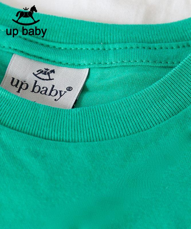 ■30%OFF■【UP BABY】男の子シンプルロゴタンクトップ【子供服1才〜3才・重ね着にもおすすめ】グリーン