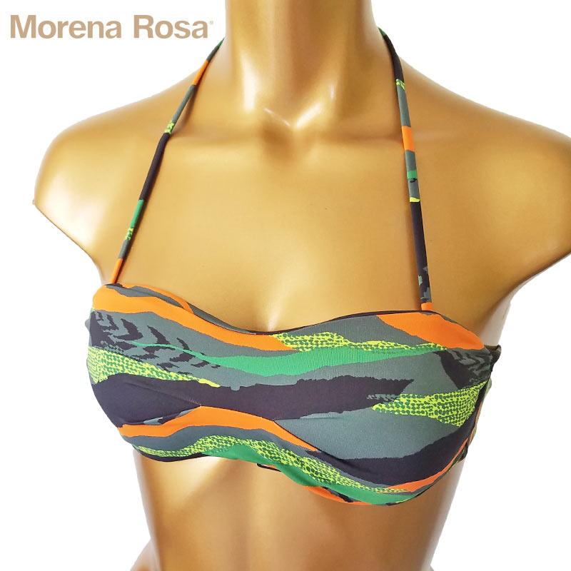【Morena Rosa】モレナローザ カモフラ柄ミリタリーバンドゥ水着|マルチ