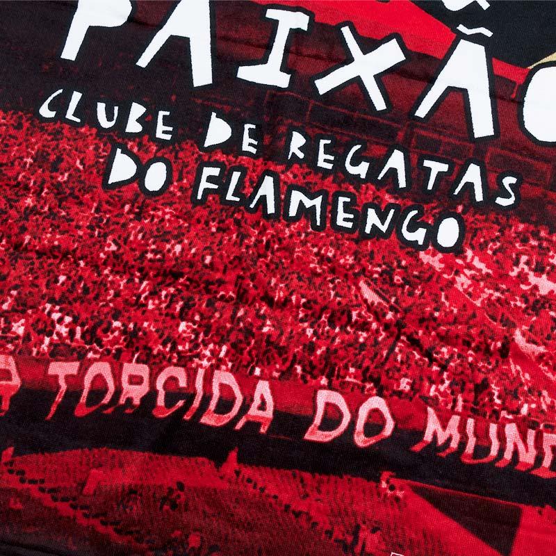 フラメンゴ RACA AMOR & PAIXAO バスタオル【FLAMENGO】