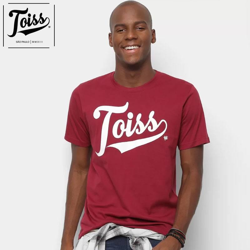 【TOISS】トイスオリジナルロゴTシャツ ボルドー