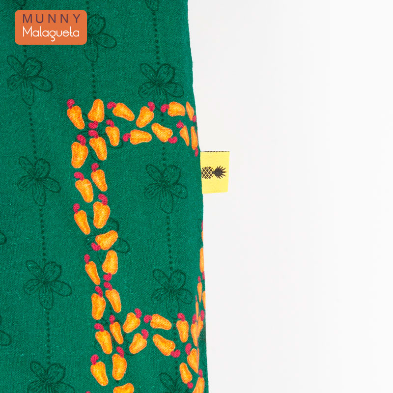 2WAYブラジルデザインバッグ AMOR 国旗&トロピカルフルーツ柄 MUNNY by Malagueta