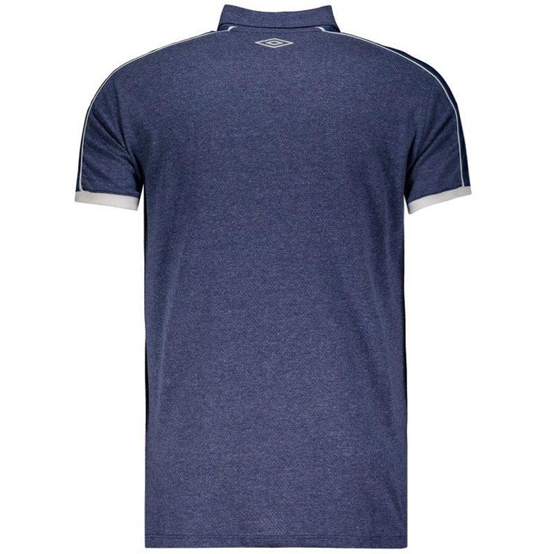 クルゼイロ公式襟付きメッシュTシャツ【CRUZEIRO】ネイビー umbro