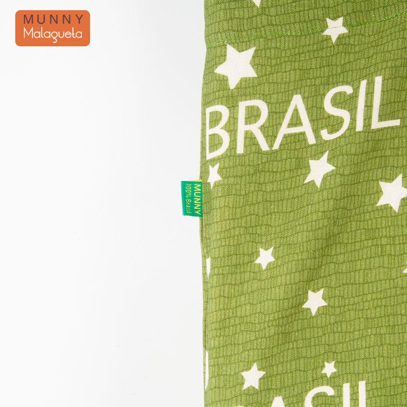 2WAYブラジルデザインバッグ BRASIL&トロピカル柄 MUNNY by Malagueta