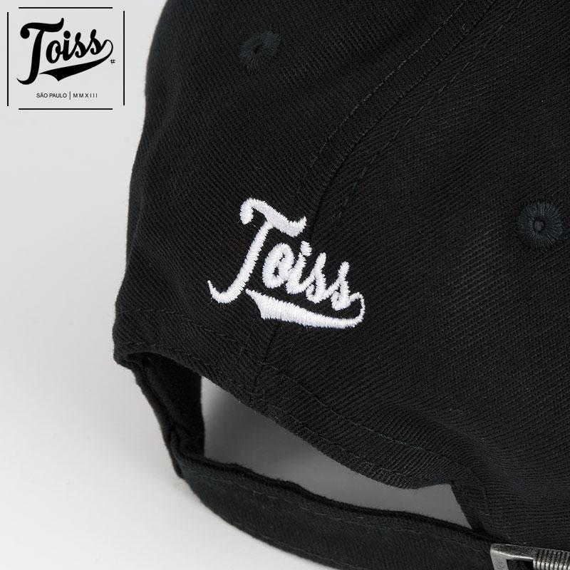 【TOISS】トイス#ベルトバックキャップ ブラック ネイマールブランド