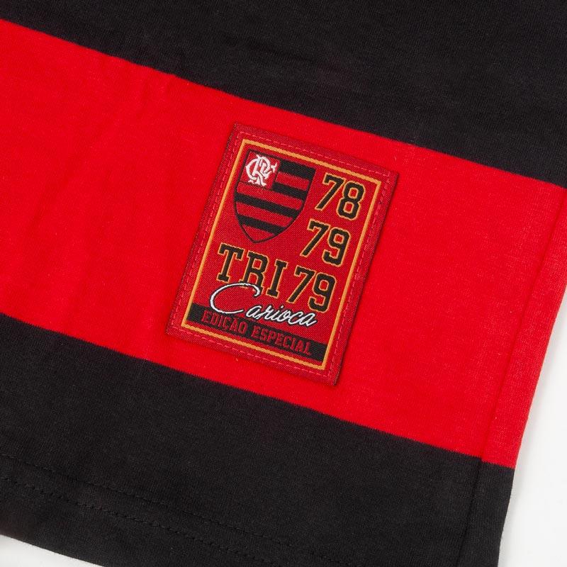 フラメンゴ公式 ボーダーTシャツ クラシックモデル 10 zico【FLAMENGO】