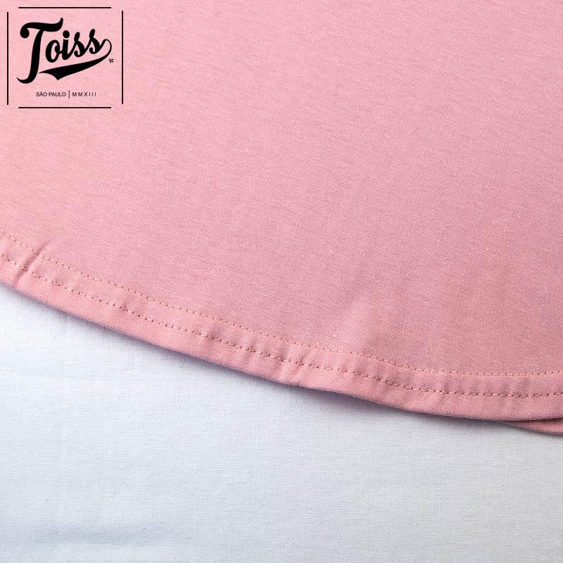 ■30%OFF■【toiss】ロングTシャツSaiote | スモークピンク