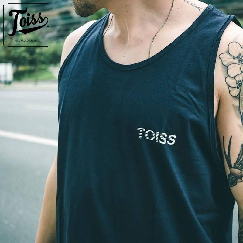 """【TOISS】アンダーロゴタンクトップ""""COSTAS""""【ネイマールブランド】   ブラック"""