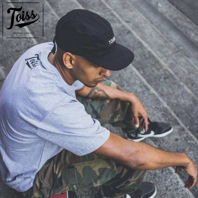 【TOISS】トイスボーダーロゴTシャツ ネイマールプライベート愛用  | グレー