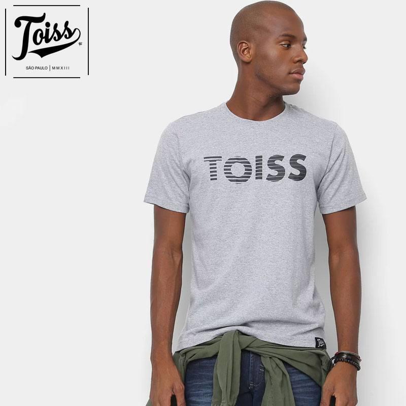 【TOISS】トイスボーダーロゴTシャツ ネイマールプライベート愛用    グレー