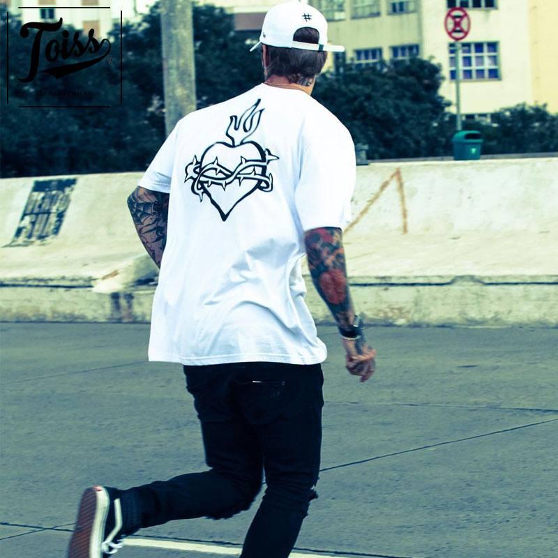 【ネイマール愛用ブランド】toissトライバルハートTシャツ | ホワイト