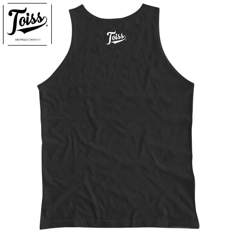 【TOISS】ポイントメッシュロゴタンクトップ【ネイマールブランド】 | ブラック