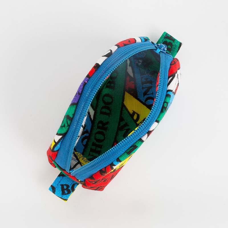 【ボンフィン柄コインケース】BONFIMブラジル小銭入れ | ブルー