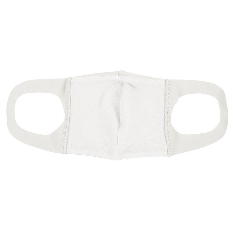 ファッションマスク【水着素材】白・バンダナ柄 ネイビー 2枚セット